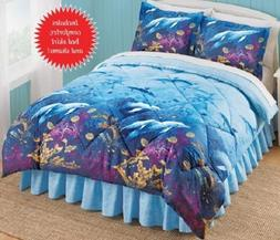 Dolphins, Beach, Tropical, Nautical King Comforter Set  + BO