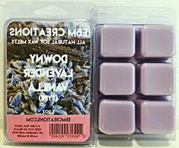 Downy lavender Vanilla  - Scented All Natural Soy Wax Melts