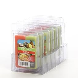 Hosley Set of 6 Dual Pack Island Fruit/Mango Papaya Wax Cube