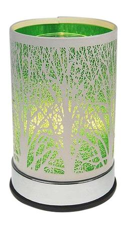 Electric Oil Warmer Wax Melts Green Tree Design Touch Contro