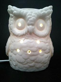 Yankee Candle Everyday Ceramic White Owl Electric Wax Melts
