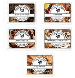 Farm Raised Candles Fall Spice Variety Assorted Mix 5 Pack.1