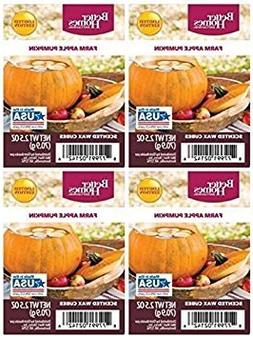 Better Homes and Gardens Farm Apple Pumpkin Wax Cubes - 4-Pa
