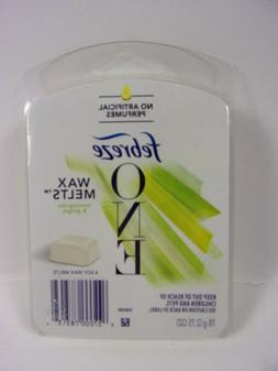 febreze one wax melts lemon grass