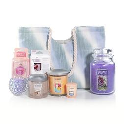 Yankee Candle 9-Piece Fragrance Filled Tote Gift Set.