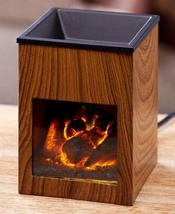 Fireplace Tart Warmer - Small Electric Fireplace for Melting