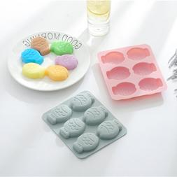 Fish Shape Silicone Molds for Chocolate Candy Fondant Jelly