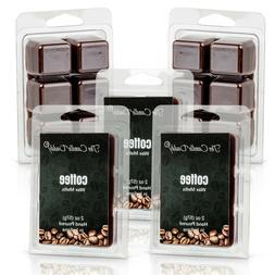 Five  10 oz. Coffee Wax Melts Tarts Incense for oil/tart war