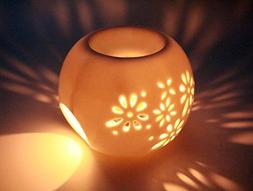 AI·X·IANG Flower Window Ball Shape Tea Light Holder Fragra