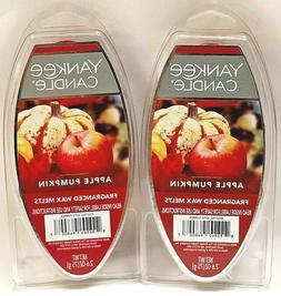 Yankee Candle Fragranced Wax Melts Apple Pumpkin, 4-Pack