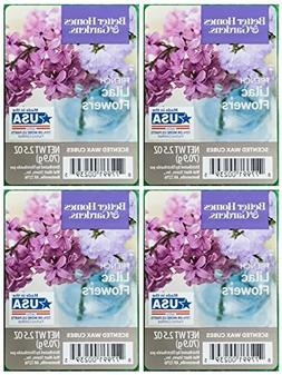 Better Homes and Gardens French Lilac Flowers Wax Cubes - 4-