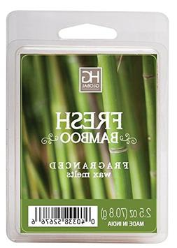 fresh bamboo scented wax cubes