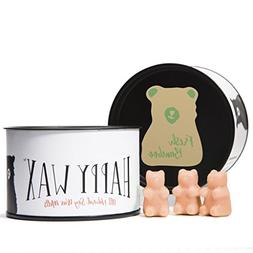 Happy Wax Fresh Bamboo, Scented Soy Wax Melts - Bear Shapes