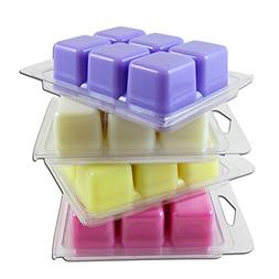 Fresh Cut Flower Collection of Wax Melts -4 pack: LILAC, GAR