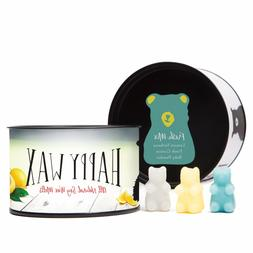 Happy Wax Fresh Mix, Scented Soy Wax Melts Fun Bear Shapes f