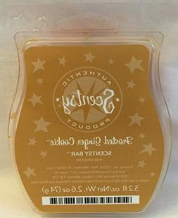 Scentsy Frosted Ginger Cookie Wax 3.2oz Warmer Bar Rare and