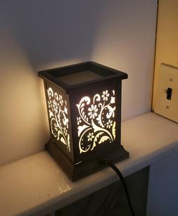 Scentsationals full size lighted Wax Warmer In Bloom New in