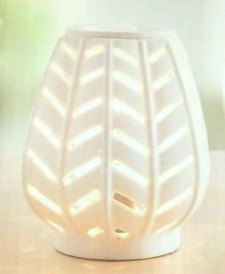 Full Size Scented Wax Warmer by Scentsationals - Button Whit