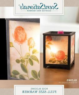 ScentSationals Full Size Wax Warmer, Rose Blooms