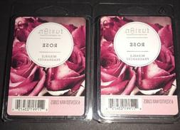 SCENTSATIONALS FUSION Scented Wax Cubes ROSE / 2 Packs / 2.5