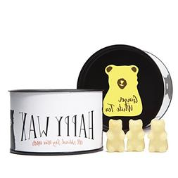 Happy Wax Ginger White Tea, Scented Soy Wax Melts - Bear Sha