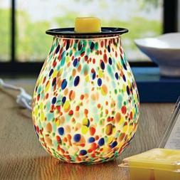 Better Homes and Gardens Art Glass Warmer, Confetti