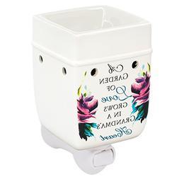 Elanze Designs Grandma Garden Love Ceramic Stoneware Electri