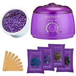 Yeelen Hair Removal Kit Hot Wax Warmer Waxing Kit Wax Melts