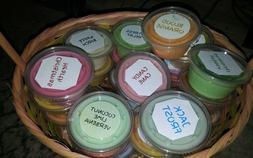 HIGHLY SCENTED SOY WAX MELTS,TARTS~ 2 OZ SHOTS~200 FRAGRANCE