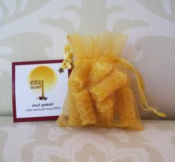 Handmade 100% Beeswax Melting Tarts  - honeycomb