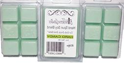 Bible Verse Candles 3 Pack Hard Candy Wax Melt 9oz Wax Cube