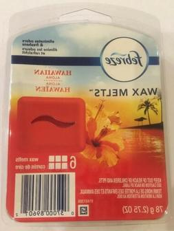 Febreze Hawaiian Aloha 6 Wax Melts Air Freshener New 2.75 Oz