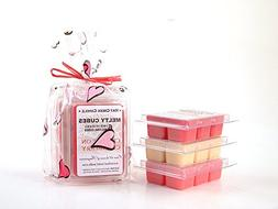 Heart to Heart 3pk Melty Cube Scented Wax Melts: Crushin on