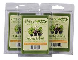 EcoScents Herbal Garden Wax Melts , Green