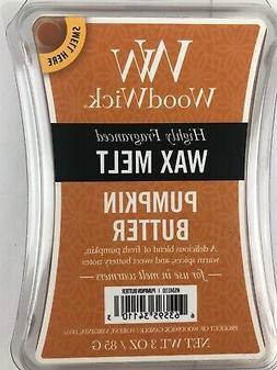 WoodWick highly fragranced Wax Melts Pumpkin Butter FALL AUT