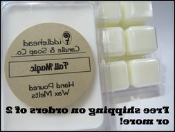Highly Scented Quality Soy Wax Melts/Tarts/Free ship when yo