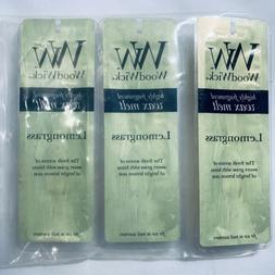 WoodWick Highly Scented Wax Melts Lemongrass 3 Packs 4 Melts