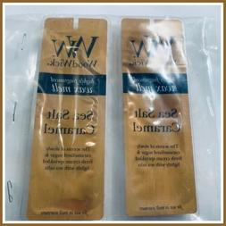 WoodWick Highly Scented Wax Melts Sea Salt Caramel 2 Packs 4