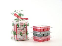 Holiday Classics 3pk Melty Cube Scented Wax Melts: Christmas