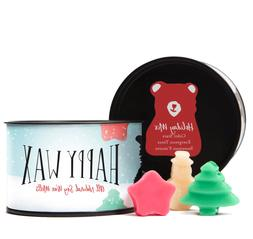 Happy Wax Holiday Mix, Scented Soy Wax Melts  Fun Bear Shape
