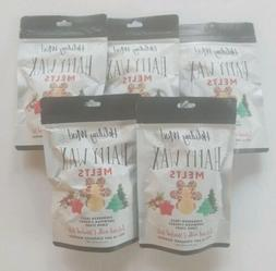 Happy Wax Holiday Mix Soy Wax Melts Evergreen Snowman Cider