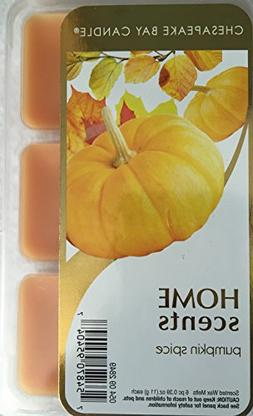 Chesapeake Bay Candle Home Scents 6 Piece Wax Melts Pumpkin