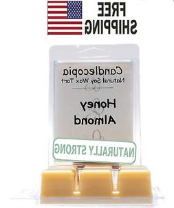 Honey Almond Strongly Scented Hand Poured Vegan Wax Melts,
