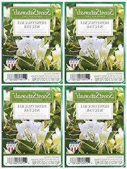 ScentSationals Honeysuckle Nectar Scented Wax Cubes - 4-Pack