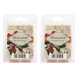 Hosley Set of 2 Honeysuckle Scented Wax Cubes/Melts - 2.5 oz