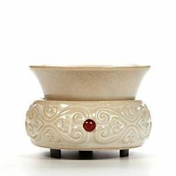 Hosley Cream Ceramic Electric Wax Warmer Ideal for Spa and A