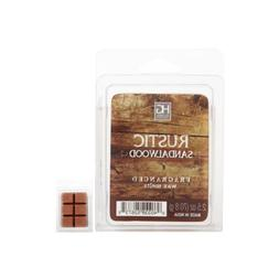 Hosley's Rustic Sandalwood Scented Wax Cubes / Melts. 2.5 oz