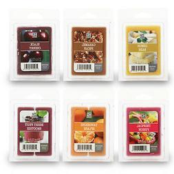 Hosley's Set of 6 Assorted Wax Cubes / Melts - 2.5 oz each.