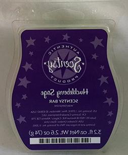 huckleberry sage wax warmer bar