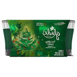 Glade Jar Candle Air Freshener, Christmas Holiday Tree Light